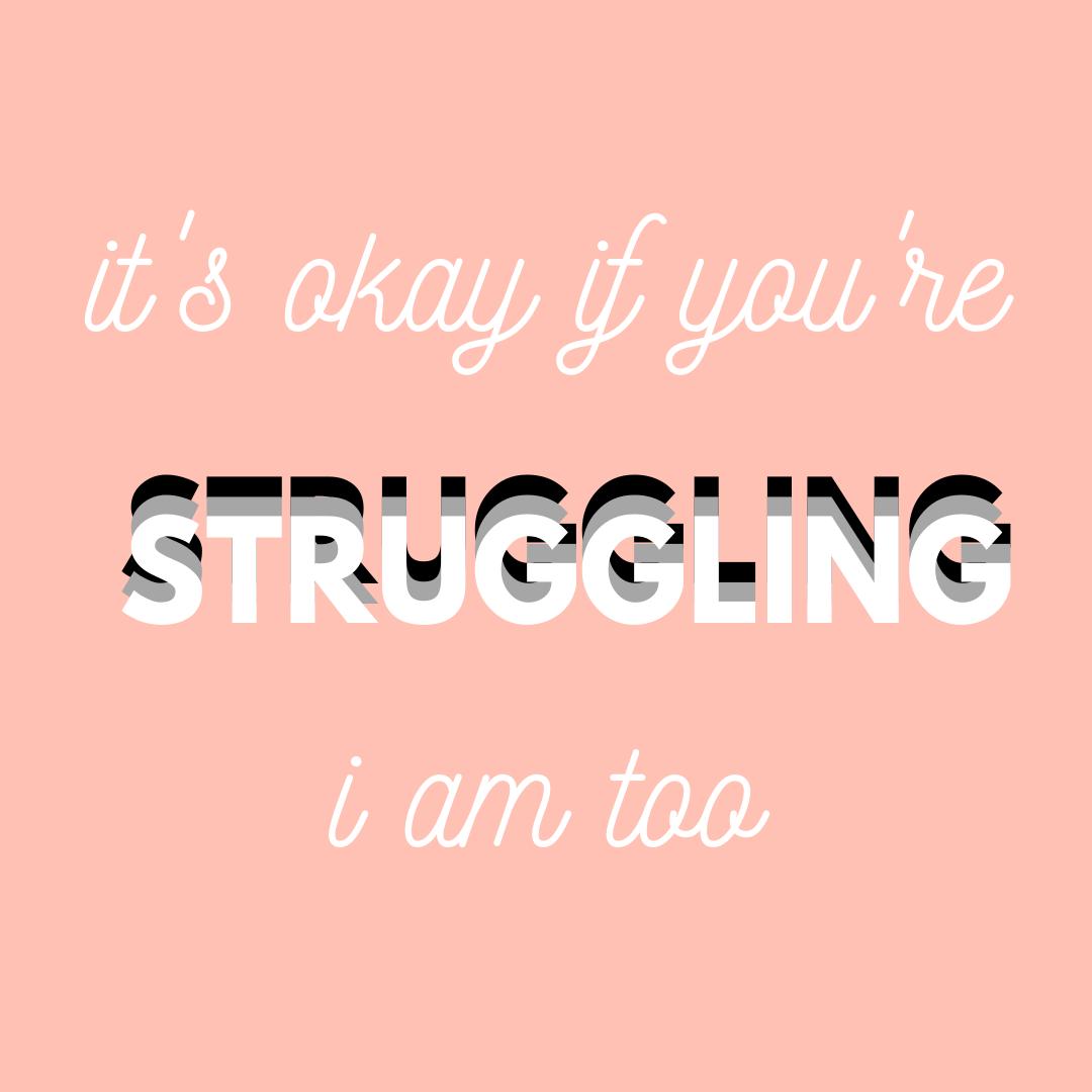 it's okay if you're