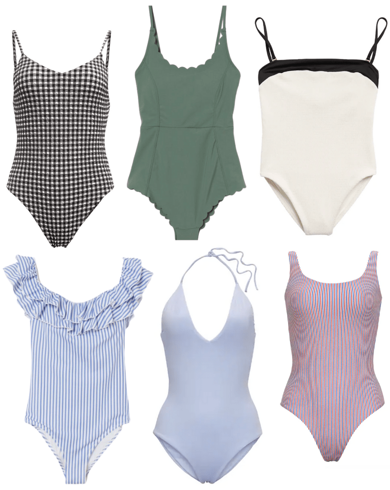 blog post 7-7-20 - Cute one piece swimsuits